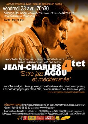 Flyer_JC_Agou_ Jazz70
